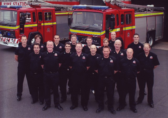 The crew of Invergordon Firestation 2007