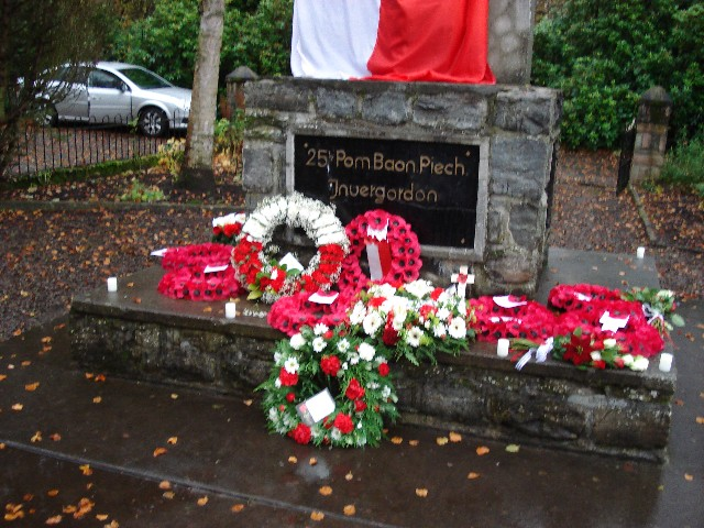 Polish Memorial Close-up