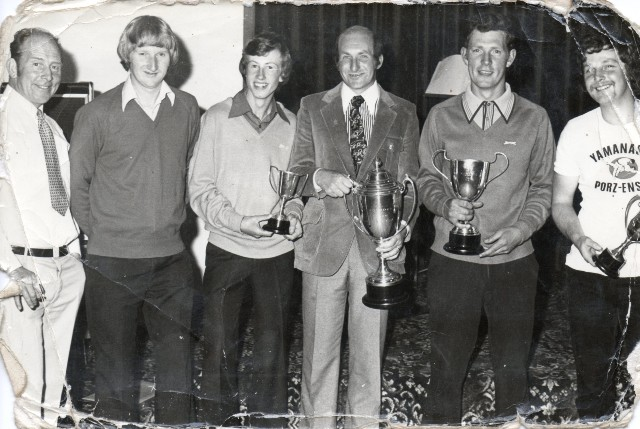 Invergordon Golf Club Awards Evening 1980