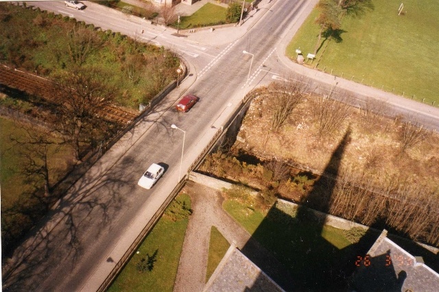 The Cross-roads below the Church