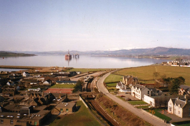 The view West down the Firth