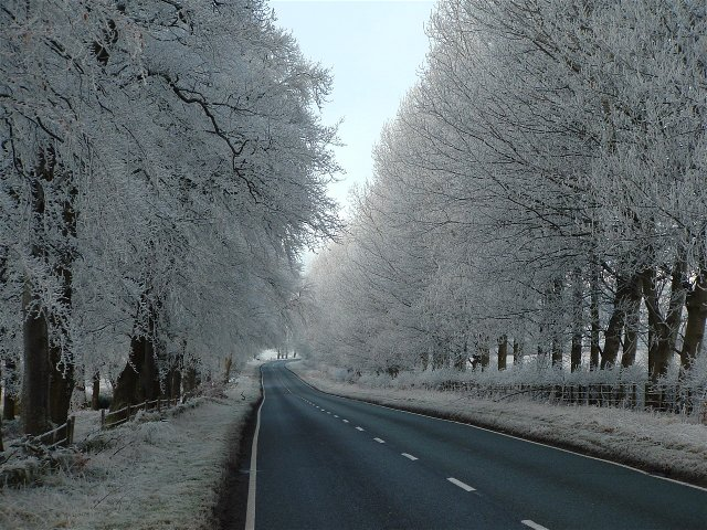 Invergordon on a Frosty morning