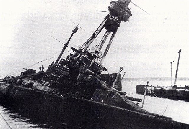 World War 1 Naval Salvage