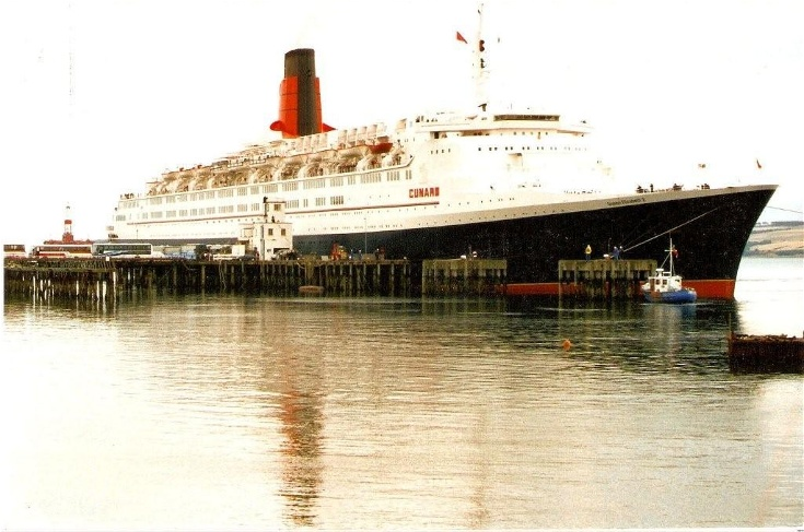 The Invergordon Archive Cruise Liner QE - Qe2 cruise ship