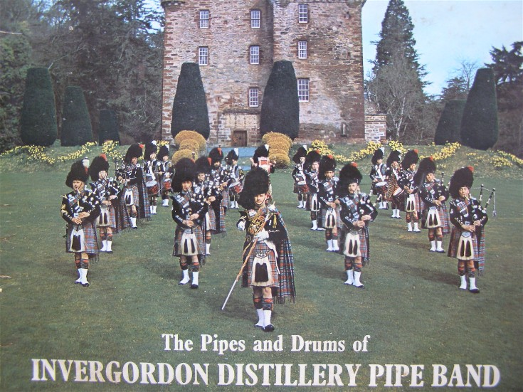 Invergordon Distillery Pipe Band