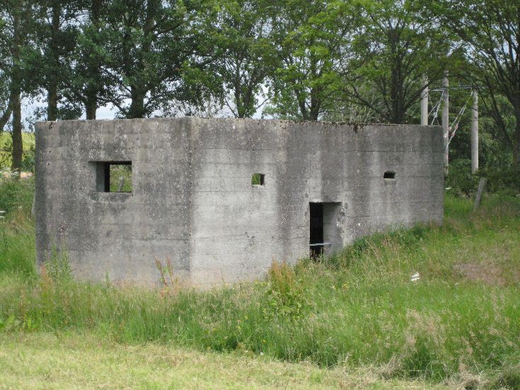 The Last Remaining Pill Box in the Area?