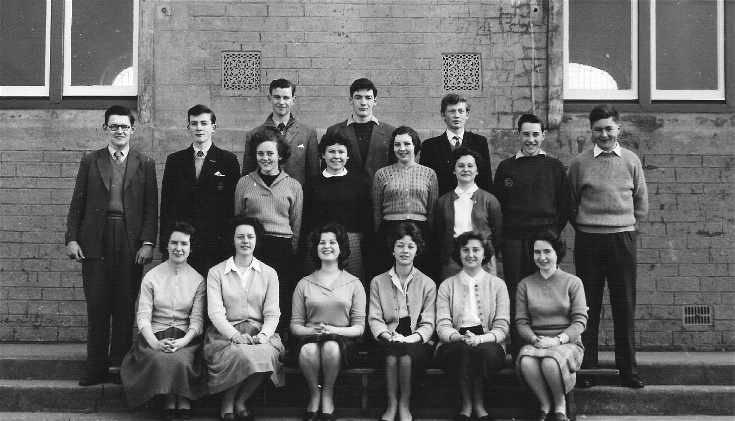 Invergordon Academy 5th and 6th years March 1960