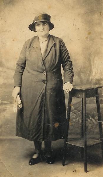 Edith Augusta Allan (nee Whitehouse)