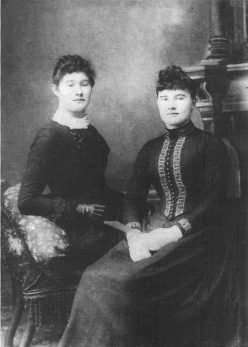 Mary Weir and Nurse McKay
