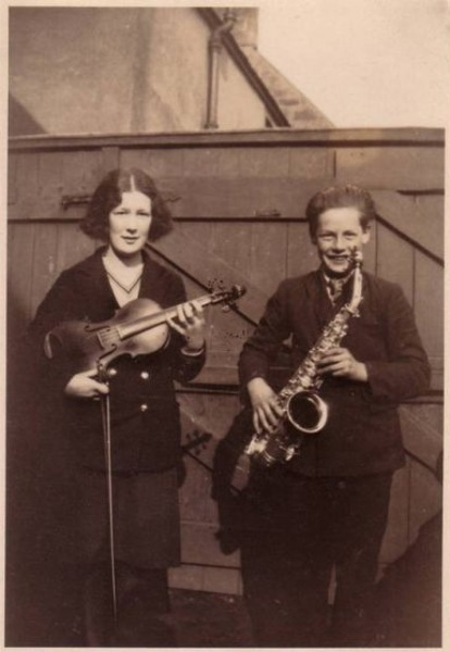 Violin and Sax