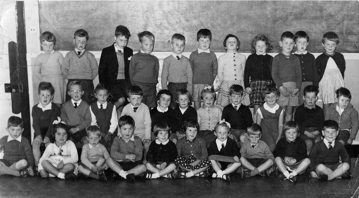 Primary One Class Photo, Cromlet Building, Invergordon, 1962/3