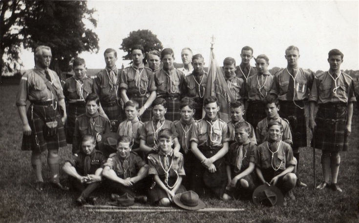 Invergordon Scouts - at Brodie, 1936