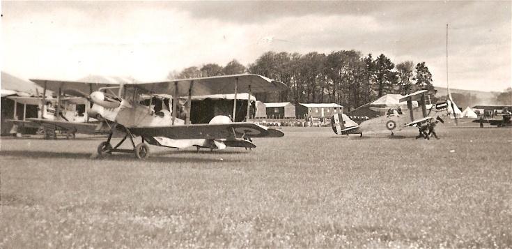 Westland Walrus aircraft at Novar