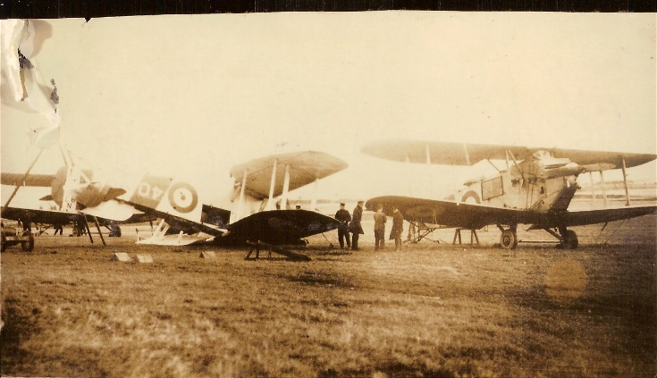 Avro Bison aircraft at Novar in 1923