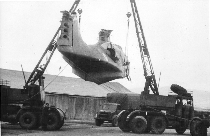 Recovery of a Consolidated PBY Catalina Flying Boat