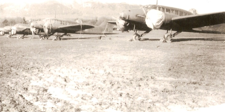 Avro Ansons attending Armament Camp at Evanton in 1939