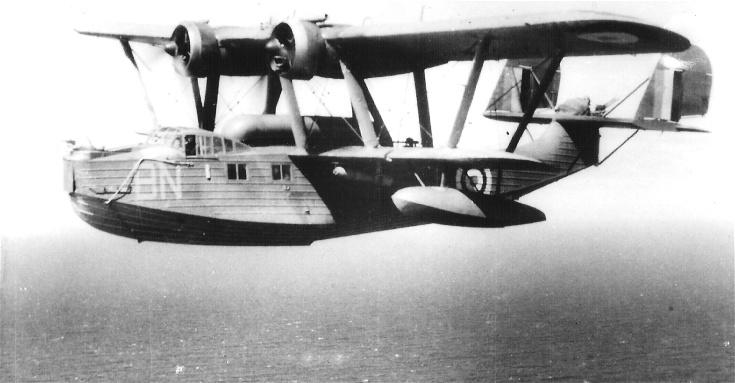 Saro London Flying Boat