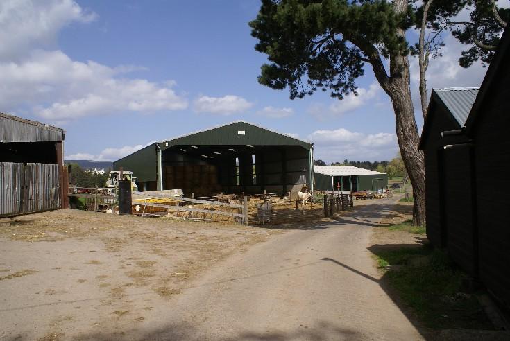 Lower Kincraig Farmyard