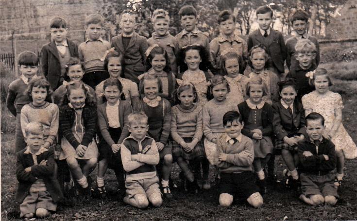 Invergordon Primary Class 4 1953