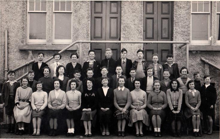Invergordon Academy Class 1A 1958