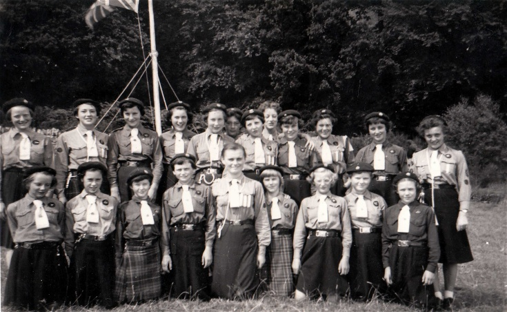 Invergordon Girl Guides Camp 1959