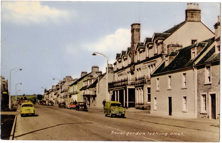 High Street Invergordon 1960s