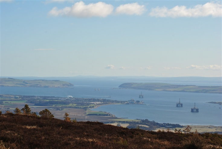 Invergordon and the Sutors from Fyrish