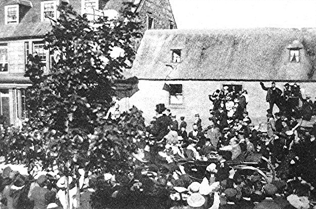 King Edward VII in Invergordon