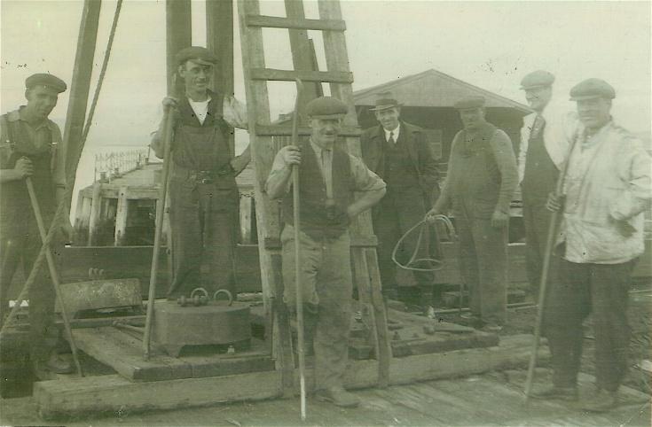 Admiralty Pier Workers