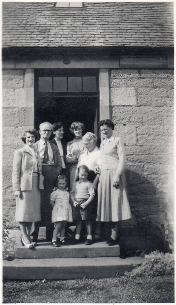 Andrews Family at Ness Cottage