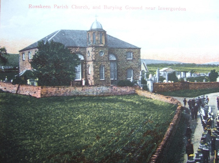 Rosskeen Parish Church and Burying Ground near Invergordon