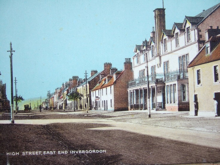 High Street, East End Invergordon