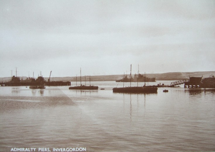 Admiralty Piers, Invergordon