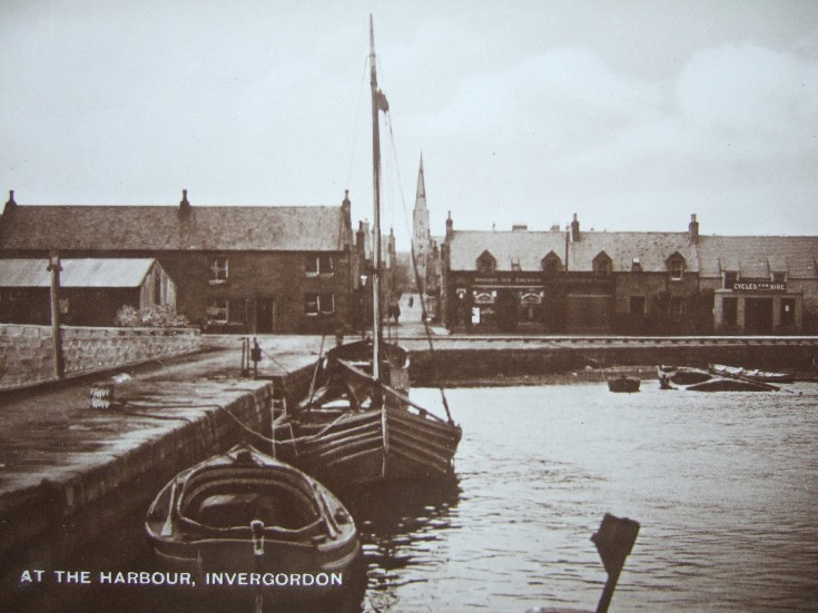 At the Harbour, Invergordon
