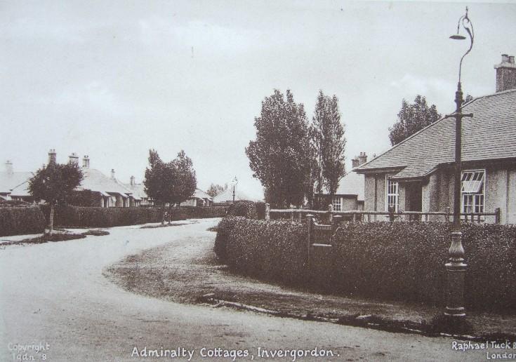 Admiralty Cottages, Invergordon