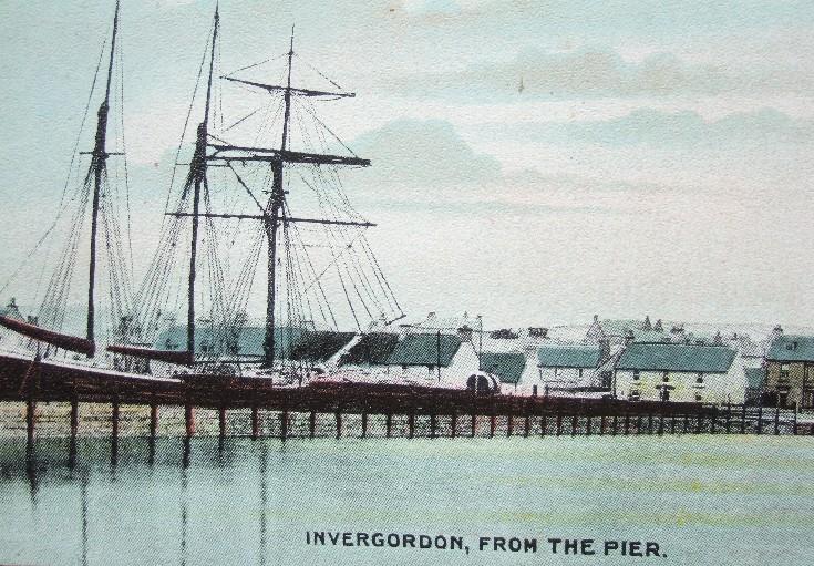 Invergordon, from the Pier