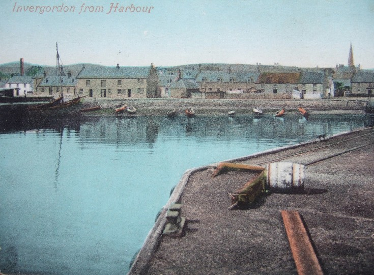 Invergordon from Harbour