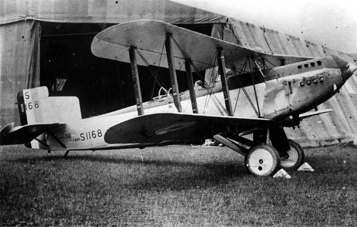 Fairey IIIF at Novar, 1927