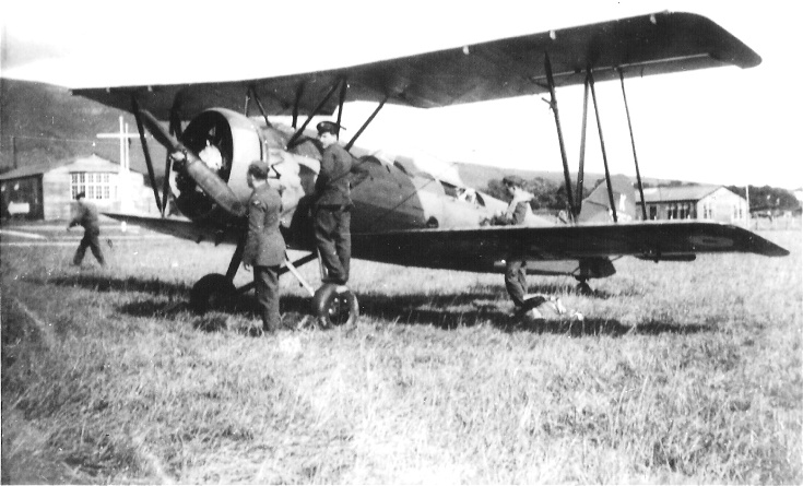 Avro Tutor trainer at Evanton, 1939