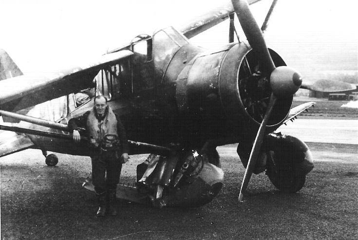 Lysander at Evanton, 1942