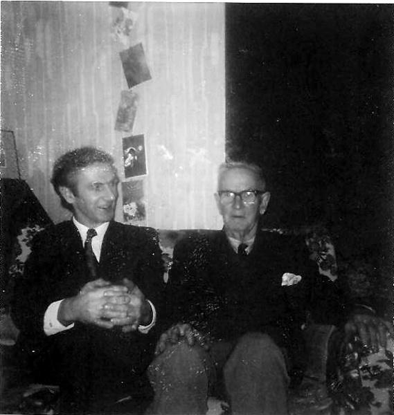 Gordon Andrews and J.P Andrews, 1975