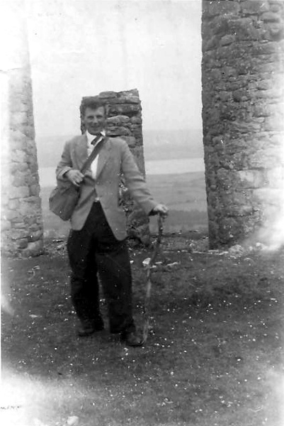 Gordon Andrews at Fyrish, July 1954