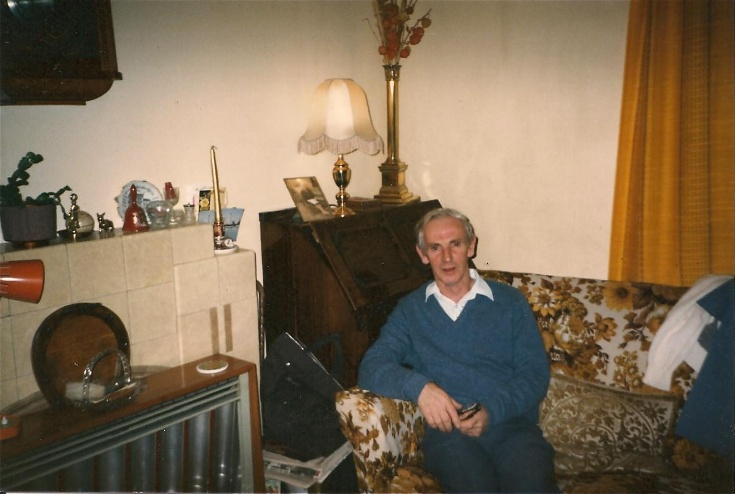 My father, Gordon, taken at Tigh Beag