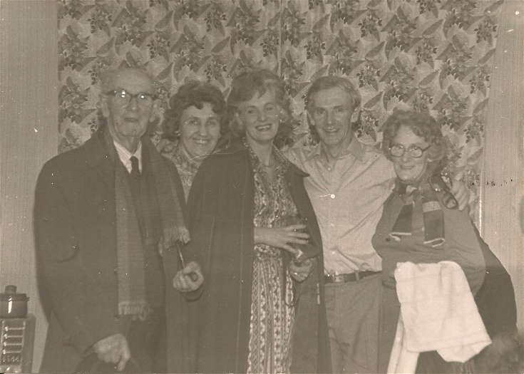 J.P. Andrews, Dorothy, Eileen, Gordon and Barbara