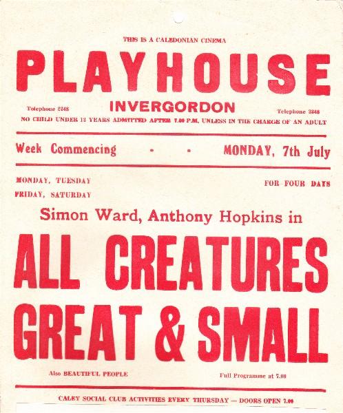 The Playhouse, Invergordon