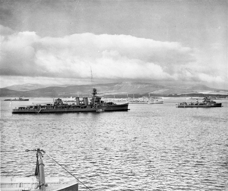 The Fleet in the Cromarty Firth