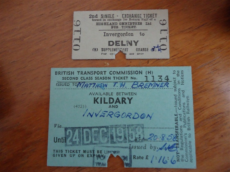 Old Railway Tickets