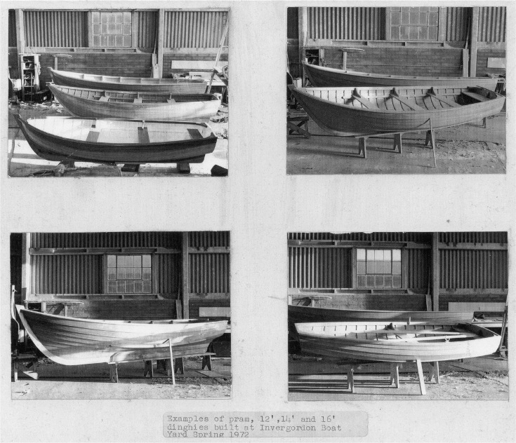 Examples of Pram Dinghies