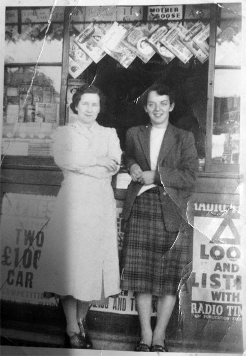 Joey Macrae and Jean Macrae