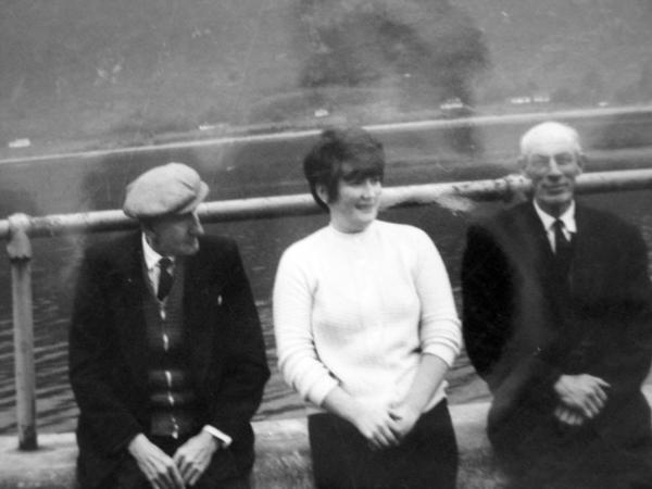 Granda Ross, my Mam and Garanda MacKenzie
